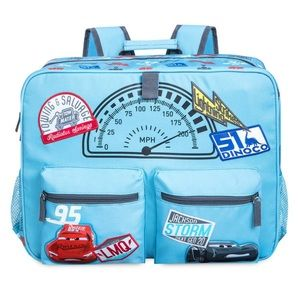 Disney Cars 3 Blue Lightning McQueen Backpack New